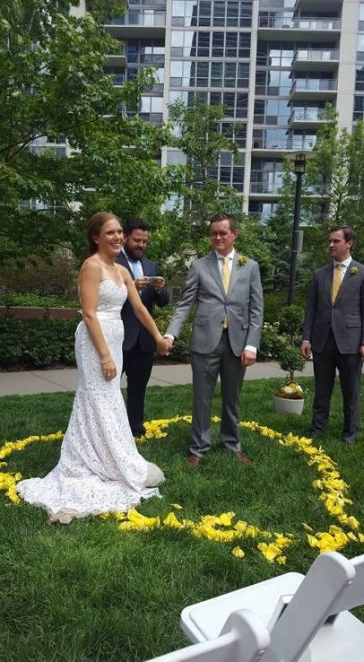 Dallas and Matt's Picturesque Wedding in the Park; June 2016